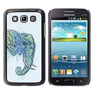Design for Girls Plastic Cover Case FOR Samsung Galaxy Win I8550 Elephant Art Magnificent Africa Savannah Painting OBBA