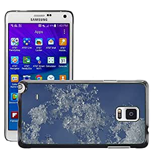 Hot Style Cell Phone PC Hard Case Cover // M00150446 Snow Ice Sky Winter Frost Frozen // Samsung Galaxy Note 4 IV