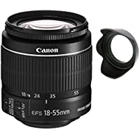Canon 18-55mm IS STM Lens (WHITE BOX) + Lens Hard Tulip
