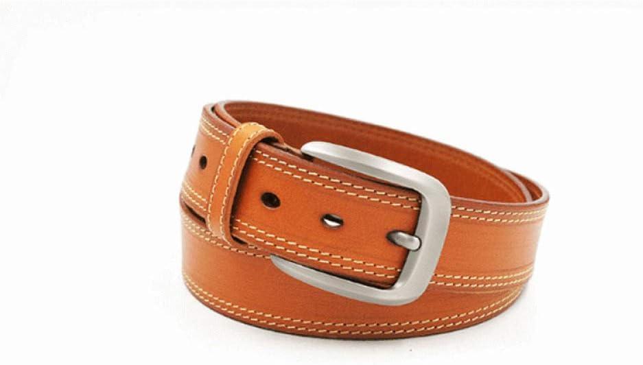 DENGDAI Mens Belt Retro Belt Fashion Mens Belt