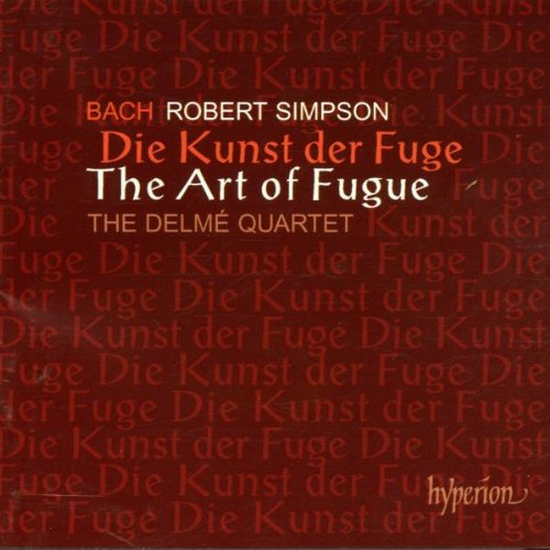 Bach: The Art of Fugue arr. Robert Simpson by Hyperion UK