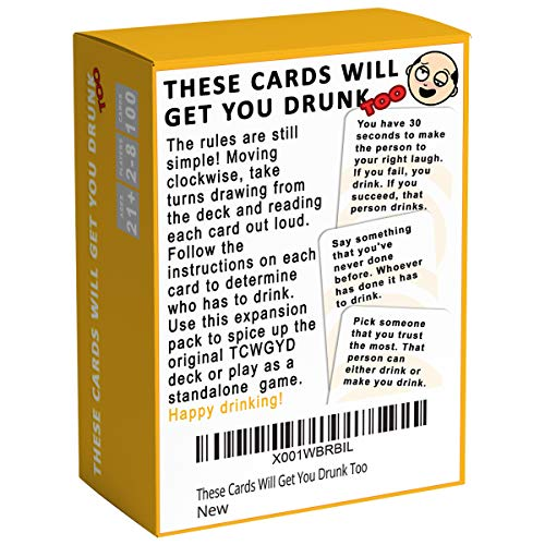 Buy drinks for drinking games