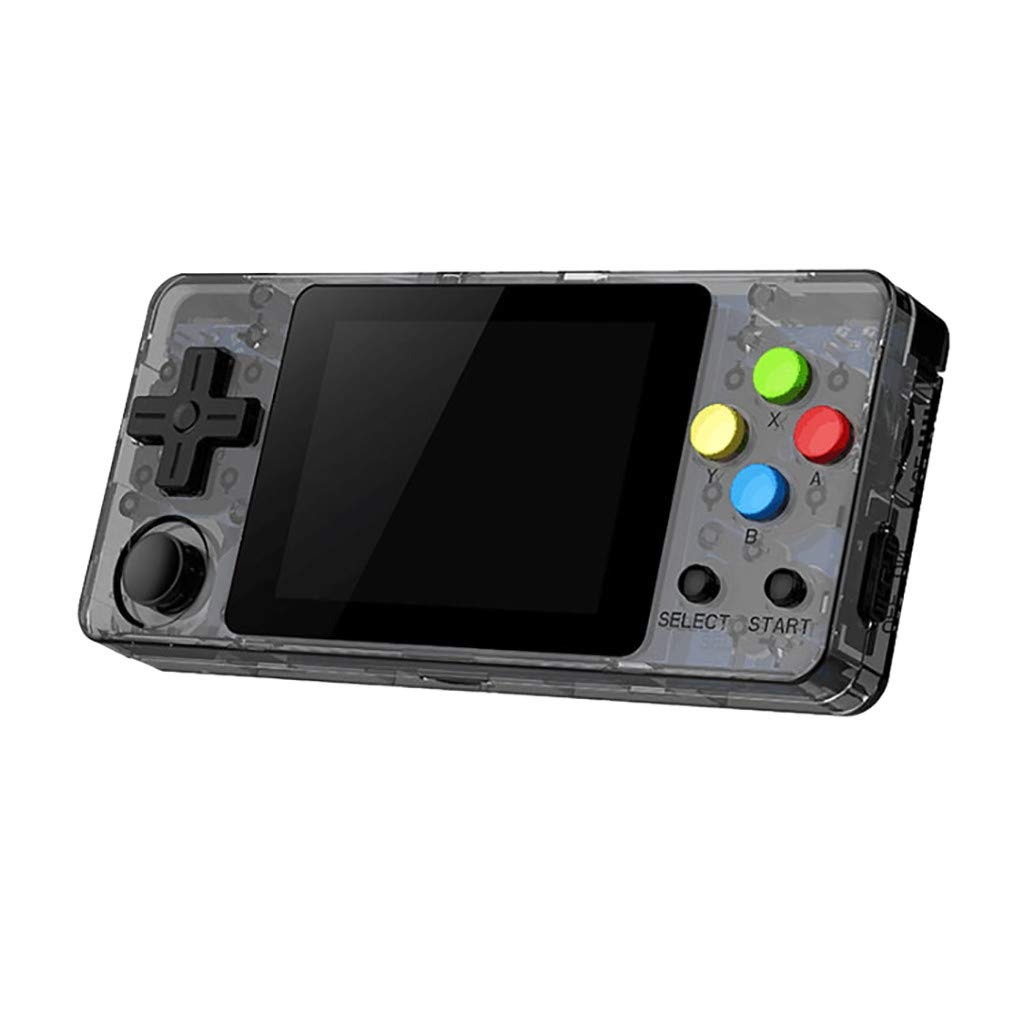 New LDK Game Handheld Gaming Console, Retro Portable Gaming System Handheld Game Console Kids Adults Screen by 2.6 Thumbs Mini Palm Nostalgia Console Children of Family TV Video (2.7 -inch, Gray) by Huangou (Image #2)
