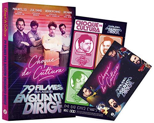 Choque de Cultura. 79 Filmes Pra Assistir Enquanto Dirige (+ Card e Adesivos)