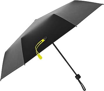 Cheerful Fox Automatic Tri-fold Umbrella Interesting Windproof Anti UV Rain//Sun Travel Umbrella Light Weight.