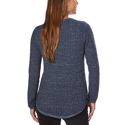 Jeanne Pierre Women's Textured Knit Sweater (Denim Combo, Large) by Jeanne Pierre (Image #1)