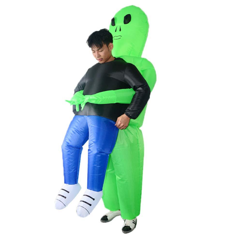 Xnferty Halloween Costume, Inflatable Grim Reaper Costume Ghost Alien Pick Me Up Adult Cosplay Fancy Dress