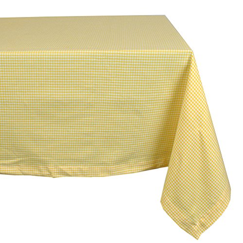 DII Cotton Machine Washable Tablecloth