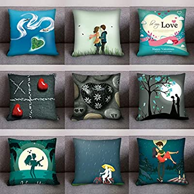 Throw Pillow Cover, DaySeventh Print Pillow Case Polyester Sofa Car Cushion Cover Home Decor 18x18 Inch 45x45 cm