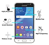 [2 Pack] iVoler [Tempered Glass] Screen Protector for Samsung Galaxy Amp Prime, [0.2mm Ultra Thin 9H Hardness 2.5D Round Edge] with Lifetime Replacement Warranty