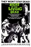 Night of the Living Dead Poster 27x40 Judith O'Dea Duane Jones Karl Hardman