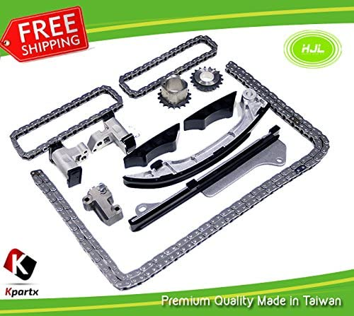 Timing Chain Kit Water Pump Fit Lexus Toyota 2.5L 3.5L DOHC 24V 2GRFE 2GRFXE