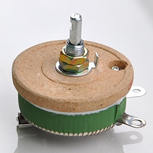 Electronics-Salon 50W 500 OHM High Power Wirewound Potentiometer, Rheostat, Variable Resistor.