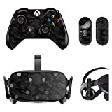 MightySkins Skin Compatible with Oculus Rift CV1 wrap Cover Sticker Skins Black Camo