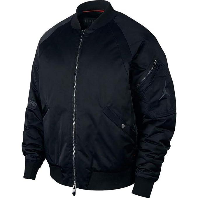 Jordan Sportswear J-1 OW Chaqueta Hombre Negro XL (X-Large)