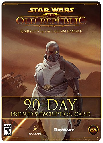 Star Wars: The Old Republic - 90 Day Prepaid Subscription Game Time Card [Online Game Code] by Electronic Arts