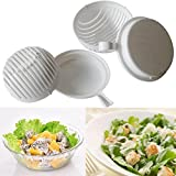 Salad Maker In Seconds, Oksale 60 Second Salad Cutter Bowl Salad Cutter Healthy Fresh Salads Made Easy Salad Cutter Bowl Vegetable Cutter Bowl