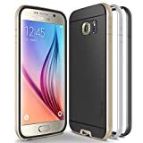 Galaxy S6 Case, Obliq [Dual Poly Bumper] [Gold,Silver,and Black] Thin Slim Fit Bumper Armor Scratch Resist Metallic Finish Dual Layered Heavy Duty Hard Protection Hybrid High Quality Case (for Samsung Galaxy S6)