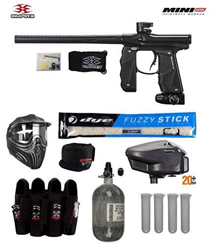 - Empire Mini GS Tournament Elite Paintball Gun Package A - Dust Black
