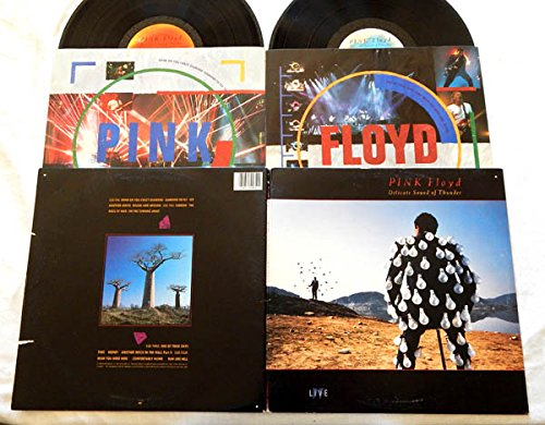 Pink Floyd Double Live LP The Delicate Sound Of Thunder - Columbia Records 1988 - Near Mint Vinyl - Time - Money - Wish You Were - 1988 Mint