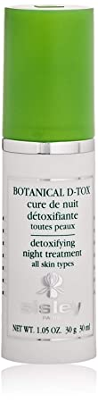 Sisley Botanical D-Tox Detoxifying Night Treatment, 1.05 Fluid Ounce