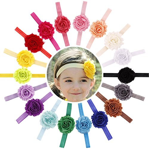 Chiffon Stretchy Headbands Newborn Infants product image