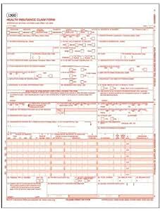 Amazon.com: CMS-1500 Health Insurance Claim Forms for