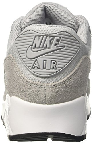 wolf Femme Gymnastique De Grey Nike white Chaussures Wmns black white Air 90 Max Gris qqY10wz