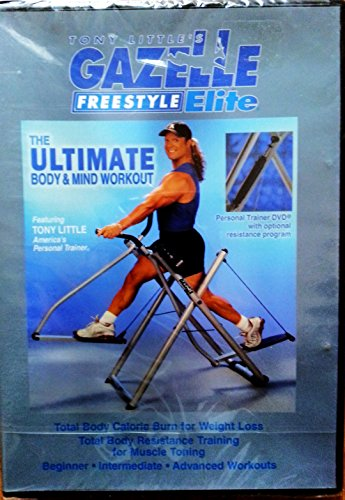(Tony Little's Gazelle Freestyle Elite: The Ultimate Body & Mind Workout DVD)