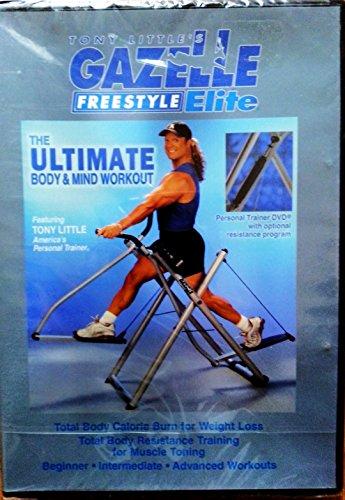 Freestyle Gazelle Little Tony Dvd - Tony Little's Gazelle Freestyle Elite: The Ultimate Body & Mind Workout DVD