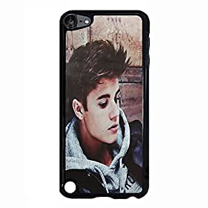 Blue Stylish Justeir Biber Phone Case Cover for Ipod Touch 5th Generation