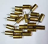 Box of 20-9mm Bullet Casing Thumb Tack Push Pins