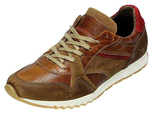 Dockers - Zapatos de cordones para hombre marrón coñac coñac