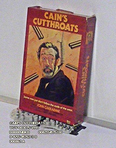 Cains Cutthroats [VHS] (Ruby Osborne)
