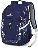 High Sierra Tactic Backpack, True Navy/Bandana/White