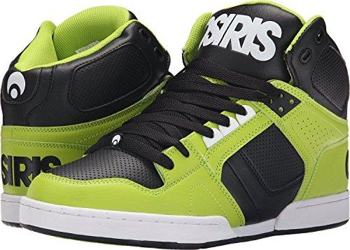 Osiris NYC 83 Lime Negro Unisex Hi Top Skate Zapatos