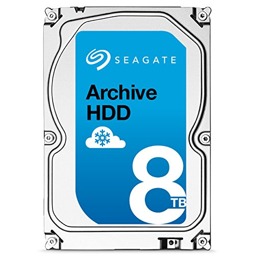 Seagate Archive HDD v2 8TB SATA 6Gb/s 128MB Cache Internal Bare Drive with SMR Technology 3.5″ – ST8000AS0022