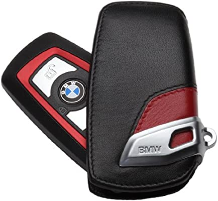BMW Genuine BLACK Key Case Fob Holder F Chassis Models NEW !!!!!!