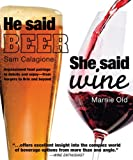 He Said Beer, She Said Wine, Sam Calagione and Dorling Kindersley Publishing Staff, 0756654491