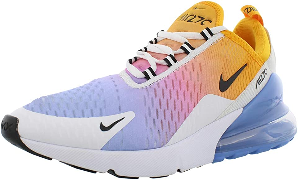 Nike Air MAX 270, Zapatillas de Trail Running para Mujer, Multicolor (University Gold/Black/University Blue 702), 38 EU: Amazon.es: Zapatos y complementos