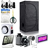 Grow Tent Inside:96% highly reflective waterproof diamond Mylar(enhance the reflective effect)Large heavy duty Zippers & Double Stitching for protection against light leaks.Outside:heavy duty 600D lightproof oxford cloth Frame:diameter 16MM white...