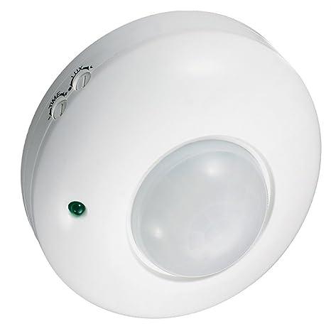 Maclean - Mce19 - detector sensor de movimiento de superficie en techo 360º