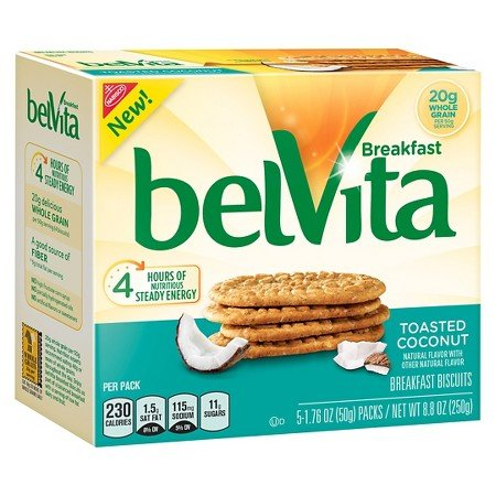 Nabisco belvita Toasted Coconut 8.8 oz for sale  Delivered anywhere in USA
