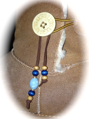 BOOT CHARMED - UGG Bailey Boot CHARMS - SET of 2 - Custom Bling Charm for ANY Button BOOTS! (Ugg Bailey Bling Boots)