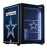 NFL Dallas Cowboys Counter Top Refrigerated Beverage Center, 1 cu. ft., Black