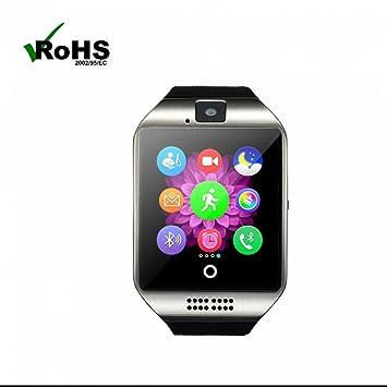 Teléfono móvil reloj bluetooth Smart Watch Reloj Fitness pulsera podómetro Dormir Análisis sess hafte Recuerdo ayuda