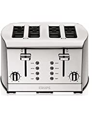 KRUPS KH734D Breakfast Set 4-Slice Toaster