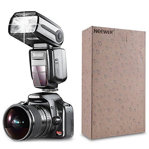 Neewer NW-565 EXC E-TTL Slave Speedlite Kit for Canon 5D II 7D, 30D, 40D, 50D,EOS 300D 350D 400D 1000D 500D 550D 600D 700D 100D 1100D/Rebel XT Xti XS T1i T2i T3i T5i SL1 T3 and Other Canon Model