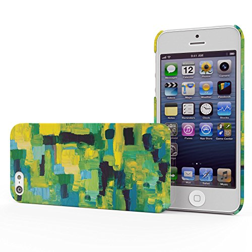 Koveru Back Cover Case for Apple iPhone 5S - Paint Pattern
