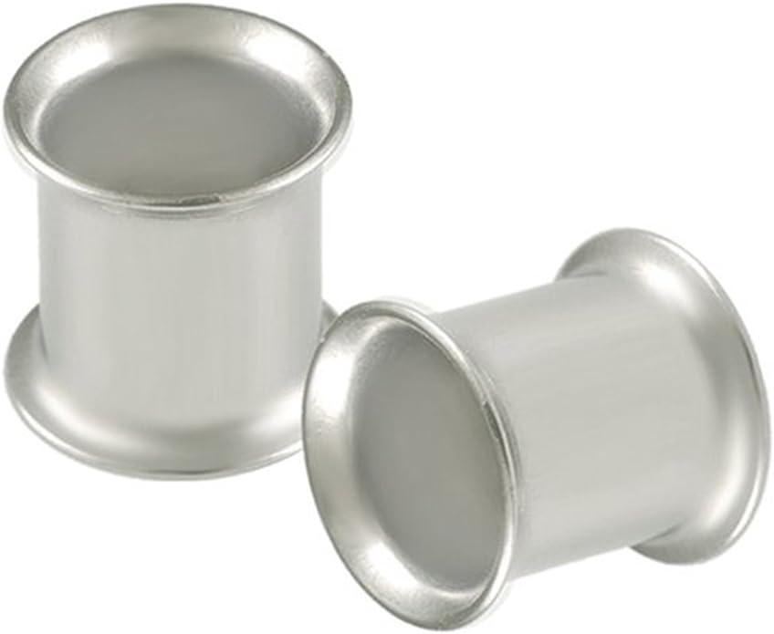 7mm /& 9mm Ohr Taper /& Flesh Tunnel Set Selten Größe Qualität 316L Chirurgenstahl